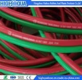 Singolo/della saldatura tubo flessibile di gomma gemellare della treccia flessibile della fibra