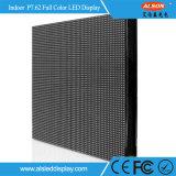 Écran polychrome fixe d'intérieur d'Afficheur LED de cube en stade P7.62