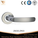 Handvat van de Hefboom van de Deur van het Messing van de Vervaardiging van de Hardware van de Deur van Wenzhou het Antieke (Z6025-ZR05)