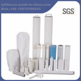 El derretimiento de los PP soplado/cadena hiere/cartucho de filtro plisado para el tratamiento de aguas