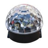 3*3W RGB LED 단계 쇼 테마 파크 훈장을%s 수정같은 마술 공 효력 빛