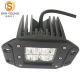 Luz de trabajo 16W LED Spot 4X4WD conducción del camino POD para el Jeep antiniebla Luces drving