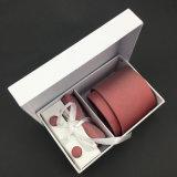 La coutume chinoise tissée par soie de 100% enferme dans une boîte la cravate