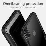 iPhone8のための耐震性TPU及びアクリルの柔らかく明確な言い分