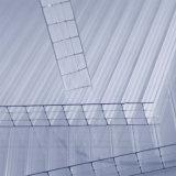 Geschütztes vier Wand-hohles Polycarbonat-UVblatt für Sabic