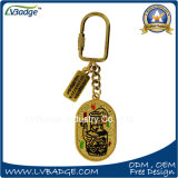 Подарки Keyring металла промотирования с изготовленный на заказ логосом
