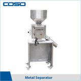 Détecteur de métal de la gravité du séparateur pour les granules de plastique