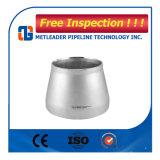 Acero inoxidable ASTM A234 Wpb concéntrica reductor reductor excéntrico