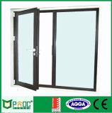 Определите застекленную алюминиевой дверь повиснутую стороной и дверь Casement