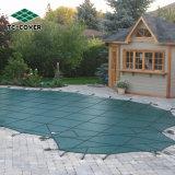 Couverture verte chinoise de piscine de maille de sûreté de l'hiver pour des piscines d'Inground