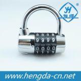 Fechamento do saco de Luggare do cadeado da combinação da senha de Yh1205 4 Digitas