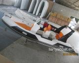 Barco inflável da casca Semi-Rigid de Liya 17FT/5.2m China para a venda