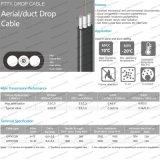 Piscina/Outdoo Gyfxtcby tubo solto e queda do duto FTTX antena de cabo de fibra óptica