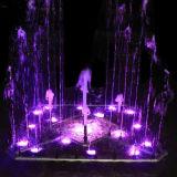 Música de baile al aire libre o jardín interior Square-Shaped fuente
