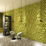 3D de fibra de paneles de decoración de pared