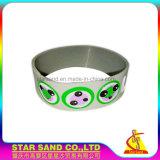 La la migliore vendita incide il braccialetto multicolore del silicone del Wristband dei regali promozionali di marchio