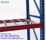 Decking revestido resistente do engranzamento de fio de aço do PVC para o racking do armazenamento da pálete