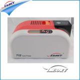 Impresora plástica de alta velocidad de la tarjeta del PVC de la impresora T12 de la tarjeta inteligente