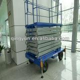 Table élévatrice manuelle Skylift de levage électrique hydraulique mobile de ciseaux de Shandong Tavol