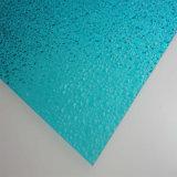À prova de folha de sólidos em relevo de policarbonato com 2 mm de espessura