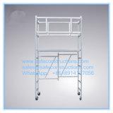 Coffre-fort Ce portable homologué pour la décoration d'échafaudage en aluminium