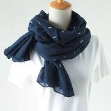 Venda de algodão e linho selvagem de lenço lenço Xale Dual-Use Longa