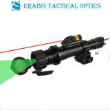 50mw de Groene Aanwijzer onder het vriespunt van de Laser Zoomable met 5mw het Rode Gezicht Combo van de Laser
