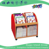 L'école les enfants Modèle Semilunar étagère en bois (HG-6106)
