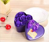 Sabão por atacado da flor da personalização, caixa do metal do presente do sabão de Rosa (YB-RS-462)