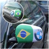 Couverture de miroir de véhicule de ventilateur de football