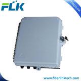 24 rectángulos del encierro de la distribución de la fibra del divisor del PLC de los accesos para la red