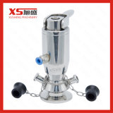 Acier inoxydable aseptique sanitaire Ss304 Ss316L Sample Cock Valve