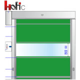 Interior Industrial Plastic Vertical Roller Shutter Door