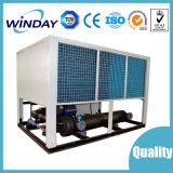 Luft abgekühlter Schrauben-Kühler-halbhermetischer Schrauben-Kompressor im Elektron