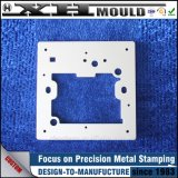 Soem-kundenspezifisches Aluminium, das Teile mit der Galvanisierung stempelt