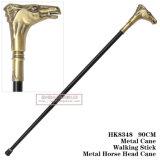 Bastone da passeggio 90cm HK8369 del metallo della spada della canna della testa di cavallo del metallo