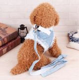 Principessa di lusso Dog Lead Mesh Harness, accessorio del merletto dell'animale domestico