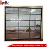 Portello di vetro del garage del metallo del portello sezionale automatico del garage