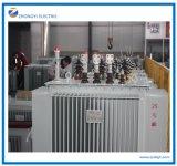 transformateur monté par Pôle immergé dans l'huile de distribution d'énergie de 11kv 2000kVA