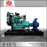 Les pompes à eau diesel pour l'exploitation minière/Irrigation avec remorque/Weather auvent