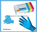 Одноразовые перчатки нитриловые графитового порошка и порошок свободной