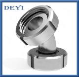 Garnitures de pipe sanitaire hygiéniques de haute précision d'acier inoxydable (DE-S001)