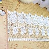 衣服のための新しいデザインファクトリー・アウトレットの金の糸の刺繍のトリミングのネットのレース及びホーム織物及びカーテン