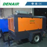 Type mobile à moteur diesel compresseur d'air pour la machine d'impression