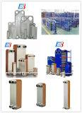ステンレス製の/Ti/SmoはNBR/EPDM/VitonのガスケットのM20/T20mのための物質的な版の熱交換器のガスケットをめっきする
