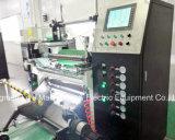 Kondensator-Film-Rückspulenu. aufschlitzende Maschinen-Qualität mit großer Geschwindigkeit