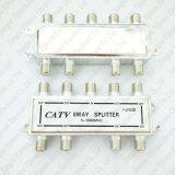 CATVのカプラーのディバイダー8の方法同軸ケーブルFのコネクターポート5-1000MHz