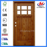 Porta do vidro do folheado do MDF dos frames de madeira HDF