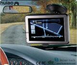 """Hete Verkoop 5.0 """" GPS van het Streepje van de Auto Handbediende Navigatie met Huivering 6.0 Systeem, de Schors van het Wapen A7, de Zender van de FM, aV-in AchterCamera, GPS Navigator, MP3 Speler, Volgend Apparaat"""