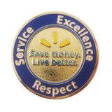La fábrica China de esmalte Metal Walmart personalizados Souvenir Coin